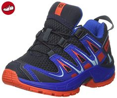Salomon Unisex-Kinder Xa Pro 3d K Outdoor-Multisport-Schuhe, Blau (Deep Blue/Blue Yonder/Lava Orange), 29 EU - Salomon schuhe (*Partner-Link)