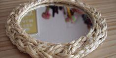 Decorativos espejos con cuerdas | Utimujer