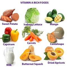 VITAMIN A HEALTH BENEFITS, DEFICIENCY AND RICH FOODS