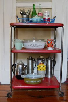 Vintage Kitchen Cart   Yes, We Had One. Ours Was All White. WHO