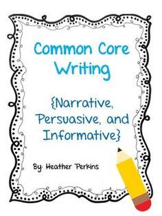 Common Core Writing