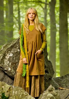 Dress in linen & cotton – Skirts & dresses – GUDRUN SJÖDÉN – Webshop, mail order and boutiques | Colourful clothes and home textiles in natural materials.