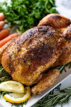 Learn how to Roast Chicken perfectly whether you are using a roasting pan, slow cooker, or just need to use a regular pan you have on hand. It's so easy! Pre Cooked Chicken, Oven Chicken, Rotisserie Chicken, Roasting Chicken In Oven, Chicken Gravy, Chicken Curry, Keto Chicken, Stay At Home Chef, Turkey Recipes