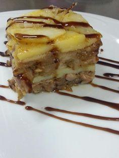 Terrina de patata, manitas de cerdo y boletus en www.facebook.com/fogondelazogue