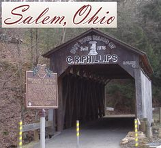 Salem Ohio, Paint, Painting Contractor Took my husband to see this bridge this summer
