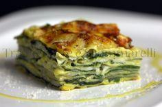 Le mie ricette - Lasagna con bietina, Asiago stagionato DOP e besciamella allo zafferano
