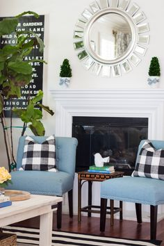 Summer Home Tour 2016 - A Thoughtful Place Rustic Living Room, Room Inspiration, House Tours, Summer House, Living Room Designs, Living Room Decor Rustic, House, A Thoughtful Place, Room
