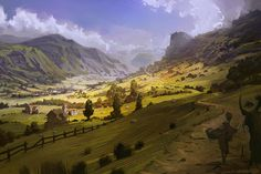 ArtStation - Virtual Plein Air, Eric Elwell