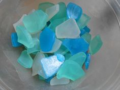 Beach glass soap from Bald Chick on Facebook