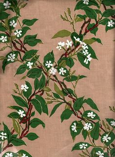 """Vintage fabric - """"Jasmine"""""""