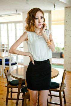 Patched dress - 88021  USD $9.50