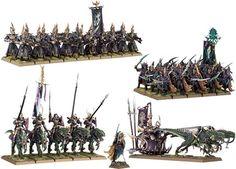Elfos Oscuros Hueste de Guerra de Naggaroth #warhammer