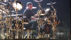 """Neil Peart = """"Ya' know, don'cha, Folks.  You haven't got a band 'cept, first, ya' gotta have the drummer and her drums!"""""""