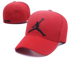 Men s   Women s Nike Air Jordan The Jumpman Embroidery Logo Flexfit Hat -  Red   Black 81a853ca139