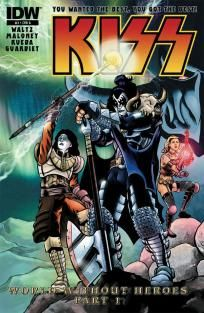 KISS #3 Casey Maloney cover a ---> shipping is $0.01 !!!