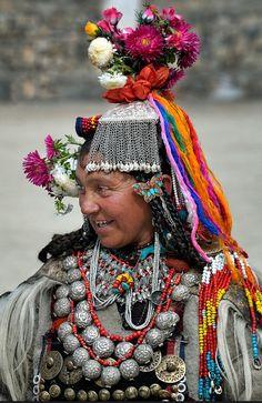 Drokpa Lady, Ladakh © Kieron Nelson