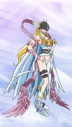 Angewomon Re-Digitized by kurotsuchi-666