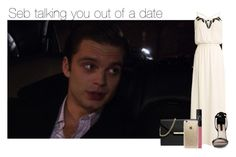 """""""Sebastian trying to talk you out of going on a date"""" by thatweirdgirlkris ❤ liked on Polyvore featuring MICHAEL Michael Kors, NARS Cosmetics, Rifle Paper Co, imagine, preference, sebastian, SebastianStan and Stan"""