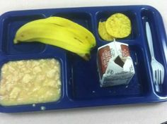 This is a healthy, nutritious lunch? Somehow, we all knew this had to be lurking in the background somewhere when it comes to Michelle Obama and the inedible