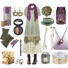 Your Fate is in the Tea Leaves by maggiehemlock on Polyvore featuring mode, Giambattista Valli, Agnona, Laura Geller, It Cosmetics, Kusmi Tea, Cultural Intrigue, Crate and Barrel and Jars