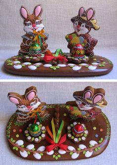 zajíc se zaječicí Christmas Sugar Cookies, Easter Cookies, Creative Food Art, Sweet Cookies, No Sugar Foods, Edible Art, Cake Art, Easter Crafts, Happy Easter