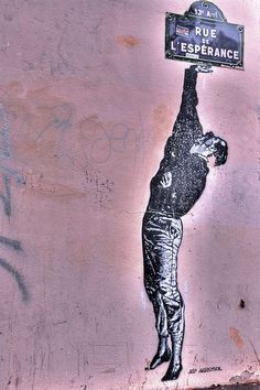 JEF AEROSOL, Paris street art