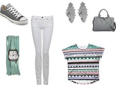 """Cute and Comfy with Turquoise Feral Wrap Watch"" by shaylinbrunson on Polyvore"