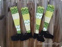 St. Patrick's Day stockings