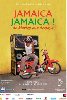 """""""Jamaïca Jamaïca! : de Marley aux deejays"""". Vous aimez la musique et les îles? Cette exposition est faite pour vous! Venez retracer l'histoire de la musique jamaïcaine, au Philharmonie de Paris (Cité de la Musique); du 4 avril au 13 août 2017. (221 avenue Jean Jaurès 75019)"""
