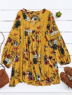GET $50 NOW | Join Zaful: Get YOUR $50 NOW!http://m.zaful.com/cut-out-floral-tunic-dress-p_274791.html?seid=qsnv875ji6s8rtlecr8utber44zf274791