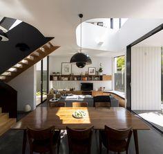unfurled house christopher polly architect sydney australia