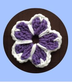 How to Crochet a Flower Pattern #43 │by ThePatterfamily