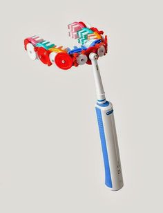 Absurd inventions - tooth brush  #gadgets #technology  #product #innovation #invention #cool #crazy #absurd #fantastic