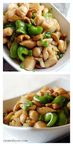 Chinese Cashew Chicken with only 3 main ingredients & dinner is ready in 30 mins. This easy recipe teaches you how to make brown sauce and tender chicken, like Chinese restaurants!---SAVE--TRY THIS--HOW TO MAKE BROWN SAUCE Food Dishes, Main Dishes, Asian Recipes, Healthy Recipes, Easy Chinese Recipes, Indonesian Recipes, Good Food, Yummy Food, Tasty