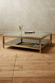 """Enclosed Circlet Coffee Table - anthropologie.com - $2300      48""""H, 48""""W, 16.5""""D"""