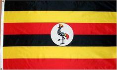 Country Flag: Uganda . $0.97