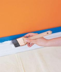 6 SImple Steps to Painting a Room - Once you've prepped the walls, the actual painting is easy.  RealSimple.com