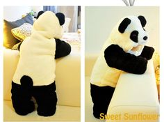 What a Cute Panda Costume for Girls and Boys. Panda Costumes, Girl Costumes, Cute Panda, Toddler Girl, Little Girls, Onesies, Dinosaur Stuffed Animal, Rompers, Characters