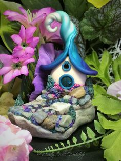 Polymer Clay Miniature Pixie Cottage-Wishing Well Workshop