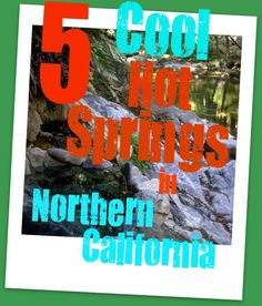 Of all California's splendorous natural features, these 5 hot springs are definitely worth any detours you might have to take from your main route! http://sunnyscope.com/5-cool-hot-springs-northern-california/