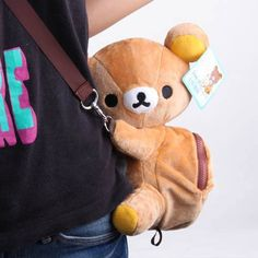 Rilakkuma Plush Bag  ))))))))))))))))))))))))))))))))))    Aww so sweet