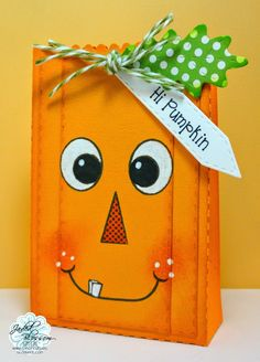 The Cricut Bug: Goody Bag Die Release- Pumpkin and Scarecrow