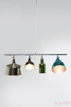Pendant Lamp Variety Glamour by KARe for above the dinning table