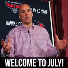 Welcome to July #ATLHawks fans! With Summer League and free agency, it's going to be another busy month for us. GO HAWKS!