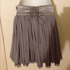 $10 SALE // Gray Maurices Textured Skirt $12 SALE. PRICE FIRM ...