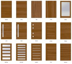 The Exterior Pivoting Wall System is a set of pivot doors built with a reinforced steel core and covered with a hardwood face. Flush Door Design, Door Gate Design, Room Door Design, Main Door Design, Wooden Door Design, Modern Entrance Door, Modern Front Door, Wood Front Doors, Contemporary Front Doors