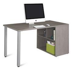 "Boardwalk Compact Desk with Open Storage - 60""W, 16001"