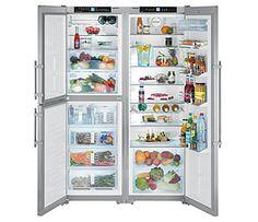 kombinovaná chladnička Liebherr SBSes 7353 od výhradního dovozce do ČR Side By Side Refrigerator, Top Freezer Refrigerator, Domestic Appliances, Kitchen Appliances, Wine Temperature, Butler Sink, White Granite, Wine Fridge, Home Renovation