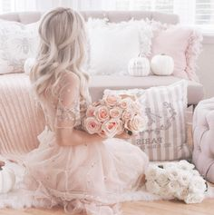 Guide & tips on how to be a girly girl for those that crave the feminine style know where to even start with achieving it. Modern Princess, Princess Aesthetic, Pink Princess, Pink Aesthetic, Princess Style, Pink Fashion, Fashion Art, Girls Dp Stylish, Girly Pictures