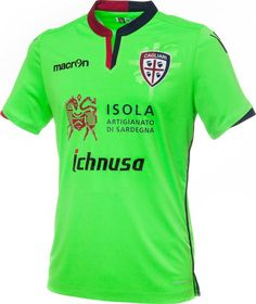 b75453c44 The new Cagliari Calcio home, away and third kits introduce unique and  interesting designs for the Serie A club, made by Macron.